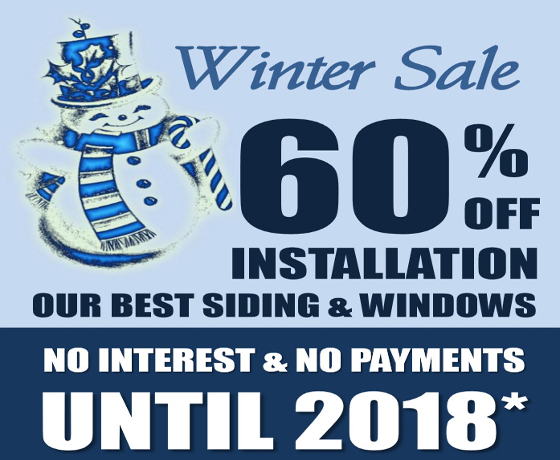 Check out our Winter Sale Specials