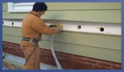Blown-In Insulation Between Studs Saves On Your Utility Bills