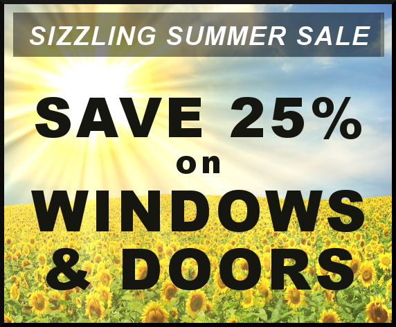 Save 25% on Vinyl Siding, Cronkhite Home Solutions Sizzling Summer Sale - Get A Free Quote On Your Next Replacement Window Remodel