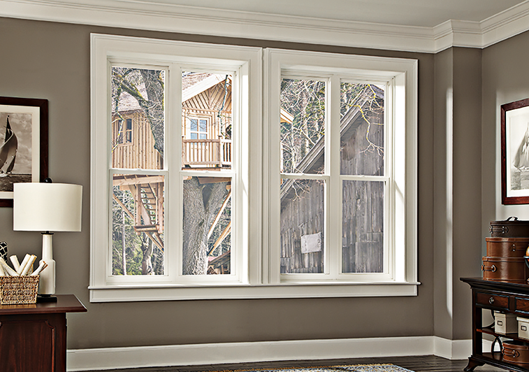 Premium Double Hung Replacement Windows Park Avenue Window Collection