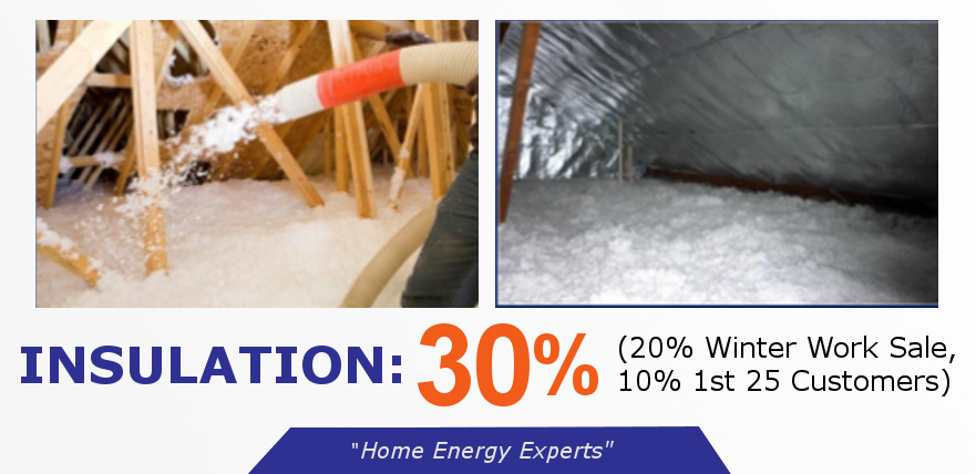 Insulation, Radiant Barrier, Duct Wrap, Home Energy