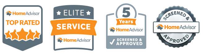 Home Advisor Elite Service 5 Years Screened & Approved Top Rated Home Improvement Contractor